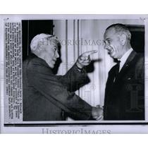 1964 Press Photo Steelworker Union Pres. David McDonald - RRX56157