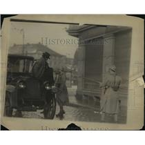 1923 Press Photo Scene in Ruike District - nem53201
