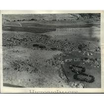 1936 Press Photo Camp of victorious legions of Italy in Norther Ethiopia