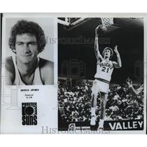 1978 Press Photo Phoenix Suns - Dennis Awtrey, Center, Number 21 - nos01569