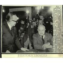 1970 Press Photo Italian Premier-designate Christian Democrat Mariano Rumor