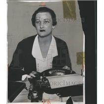 1933 Press Photo Helen Hull Jacobs U.S Tennis Player - RRQ05225