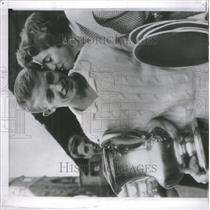 1953 Press Photo Tony Trabert Tennis Player - RRQ05321