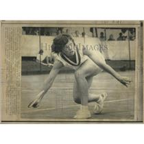 1971 Press Photo Billie Jean King Indianapolis Tennis - RRQ05577