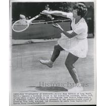 1965 Press Photo Billie Jean Moffitt tennis player - RRQ07711