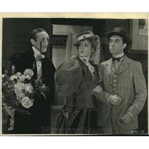 1930 Press Photo Claud Allister, Marion Davies, Robert Bolder The Florodora Girl