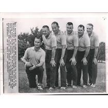 1964 Press Photo Coaching staff of Baltimore Colts. - mjx45541