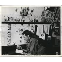 1944 Press Photo Dominick Cianci with 55 pin ups of wife Reykjavik - nem56072