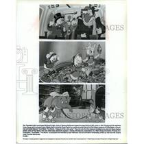 1990 Press Photo Scenes from Ducktales the Movie Treasure of the Lost Lamp.
