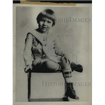 1917 Press Photo Richard M. Nixon as a boy in a sailor suit - tua05984