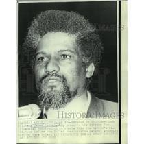 1969 Press Photo Black militant James Forman - now00265