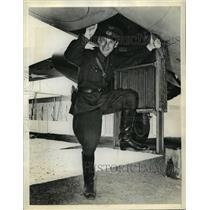 1942 Press Photo Col Victor Tashin Commander of one of Russian Air Squadron