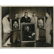 1951 Press Photo Birmingham, Alabama City Commissioners, Portraits of Men