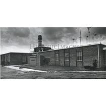 1965 Press Photo Municipal Airport Flight Service Station, Birmingham, Alabama