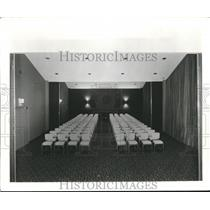 1962 Press Photo Inside Section of Birmingham Municipal Airport, Alabama
