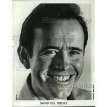 1984 Press Photo David Del Tredici, American composer. - mjp10772