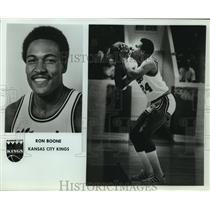 Press Photo Kansas City Kings basketball player Ron Boone - sas07503