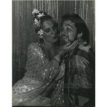 "1981 Press Photo Tulane Summer Lyric Theater's cast of ""Kismet."" - nob15025"