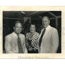 1991 Press Photo New Orleans AIDS Task Force Fundraiser - nob20130