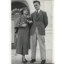 1936 Press Photo Richard Ince Charlotte Buford Wedding Yuma Arizona - XXB12859