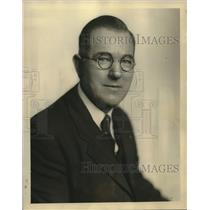 1928 Press Photo George W. Tennant, cook for Byrd Expedition to the Antarctic