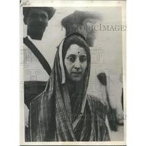 1928 Press Photo Nancy Ann Miller of Seattle on her conversion day to Hinduism.
