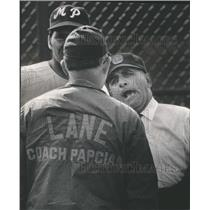 1970 Press Photo Jerry Salerno Baseball Umpire Sports - RRQ18529