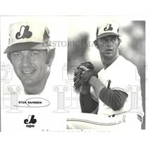 1979 Press Photo Stan Bahnsen,Montreal Expos,pitcher - RRQ20117