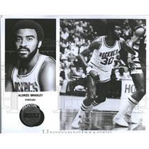 1979 Press Photo Alonzo Bradley basketball player Texas - RRQ20387