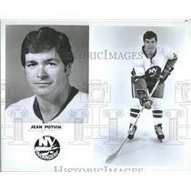 1976 Press Photo Jean Potvin/New York Islanders/Hockey - RRQ20985