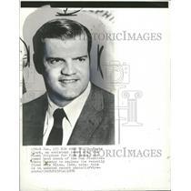 1976 Press Photo Monte Clark Head Coach San Francisco49 - RRQ21879