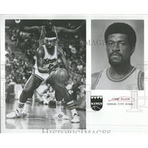 1975 Press Photo Jimmy Walker Guard Kansas City Kings - RRQ22327