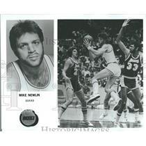 1979 Press Photo Mike Newlin Guard Houston Rockets - RRQ22377