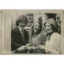 1974 Press Photo Dereck Sanderson New York Rangers - RRQ22483