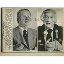 1975 Press Photo New York Knicks Mike Burke President - RRQ23493