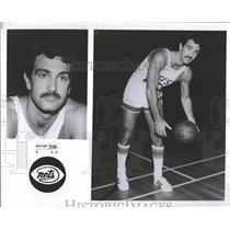 1978 Press Photo David Wohl New Jersey Nets Basketball - RRQ23761