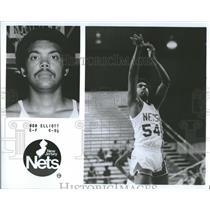 1979 Press Photo New Jersey Nets Player Bob Elliott - RRQ24063
