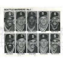 1911 Press Photo Harold Reynolds Seattle Baseball Team - RRQ25381