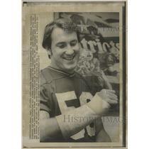 1972 Press Photo Cheyanski of the Patroits - RRQ27683
