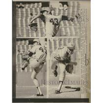 1971 Press Photo Clayton Laws Kirby San Francisco Giant - RRQ27819