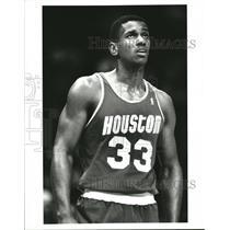 1989 Press Photo Otis Thorpe Basketball - RRQ35827