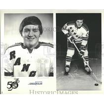 1975 Press Photo Greg Polis New York Rangers Hockey - RRQ20993