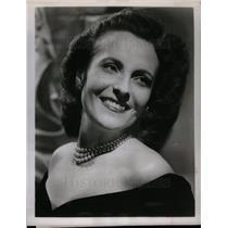 1951 Press Photo Jarmila Novotna passes away - DFPD02593