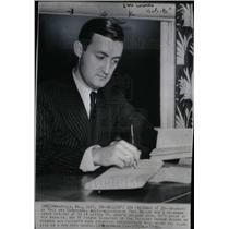 1940 Press Photo PAUL MELLON American Philanthropist - DFPD03717