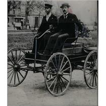 1933 Press Photo Oliver Barthel & Charles king - DFPD18479