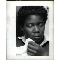 1985 Press Photo KAREN NORMAN - DFPD02063