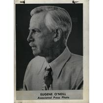1944 Press Photo Eugene O'Neill Playwright Nobel Prize - dfpd41279
