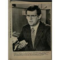 1973 Press Photo Jerome R. Waldie impeachment Watergate - DFPD53575