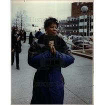 1992 Press Photo Cassandra Rutherford - DFPD59741