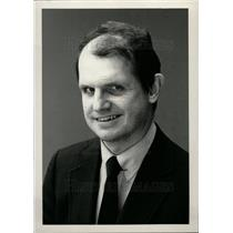 1984 Press Photo DR Arthur A Vidrich blind organist - dfpd27713